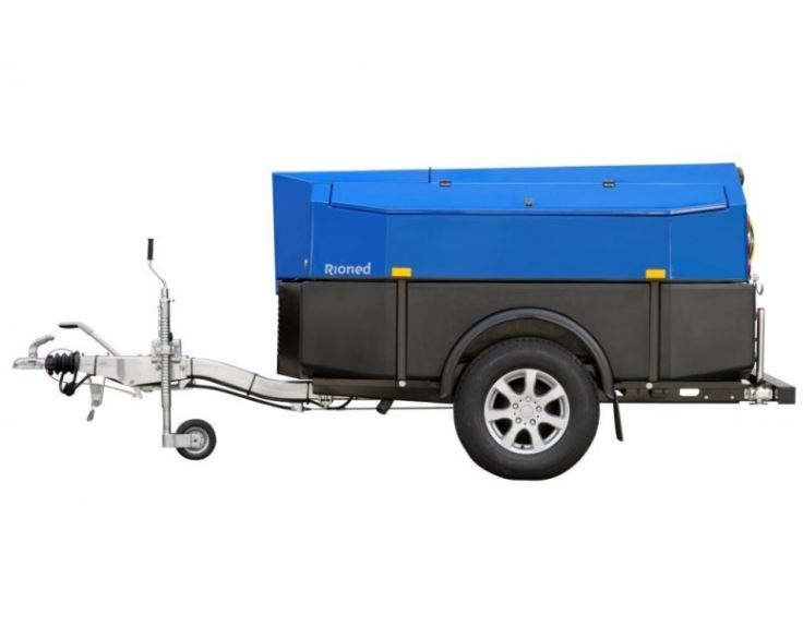 Rioned MultiJet Drain Cleaning Trailer